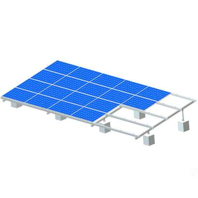 Solar Ground Mounting Systems with Concrete Base