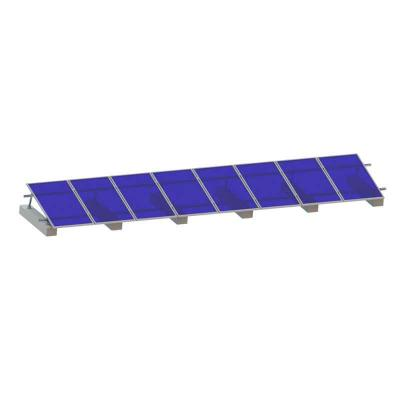 Adjustable Solar Mounting System for Flat Roof Metal Roof