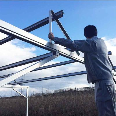 Agriculture Solar Farm Mounting Systems