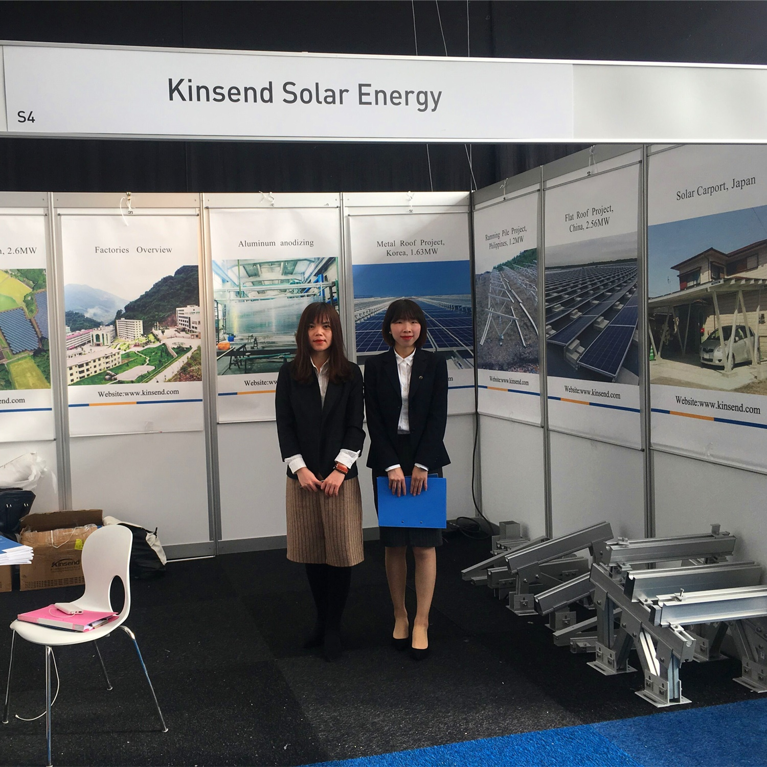 Kinsend exhibited at Solar Solutions Expo Netherlands 2019