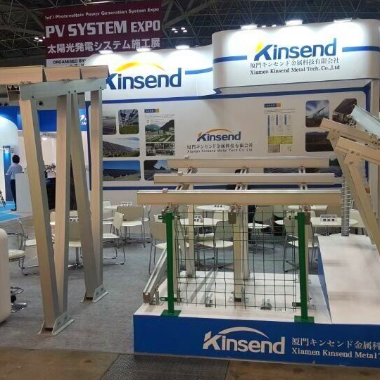 Kinsend exhibited at PV Expo Tokyo 2018