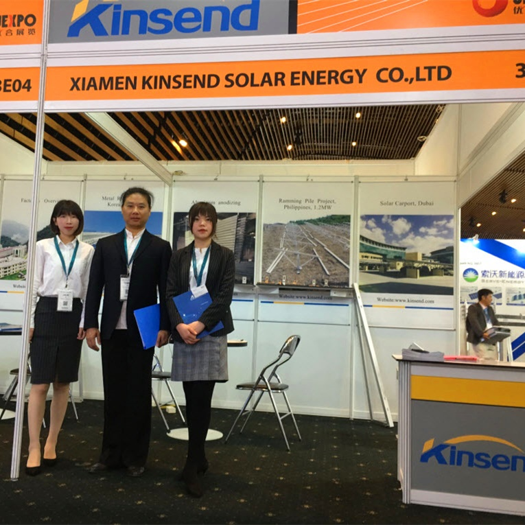 Kinsend exhibited at The Future Energy Show Philippines 2019