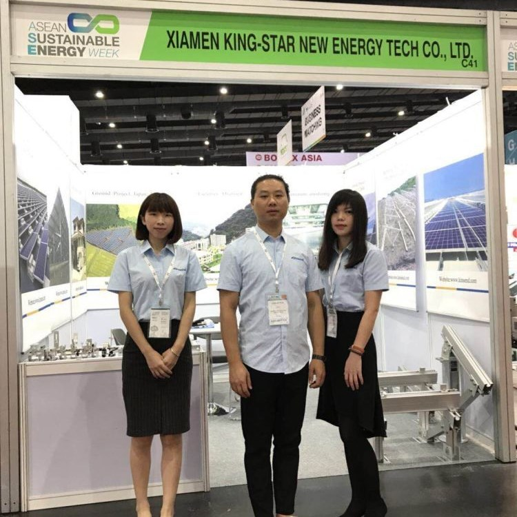 Kinsend exhibited at Asean Sustainable Energy Thailand 2018