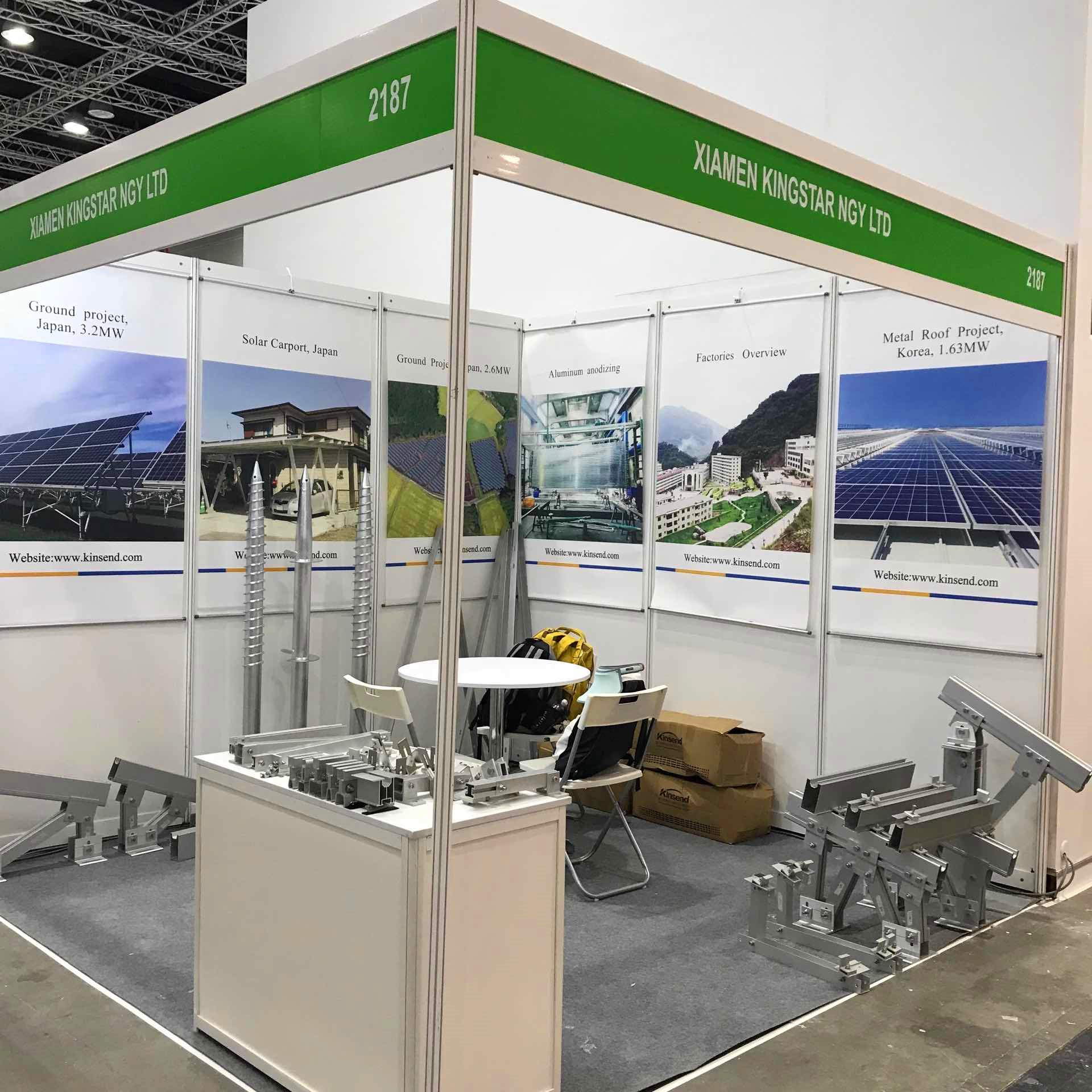 Kinsend exhibited at ASEAN Solar Expo in Malaysia 2018